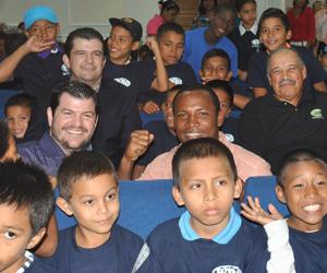 OMB realizó donación en Panamá