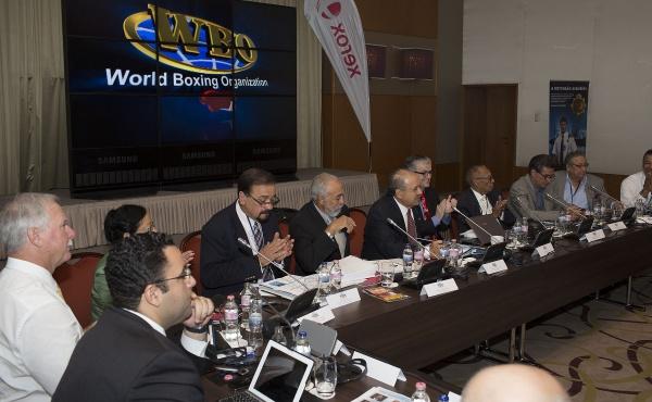 COMIENZAN LAS LABORES EN LA CONVENCION DE LA WBO 01