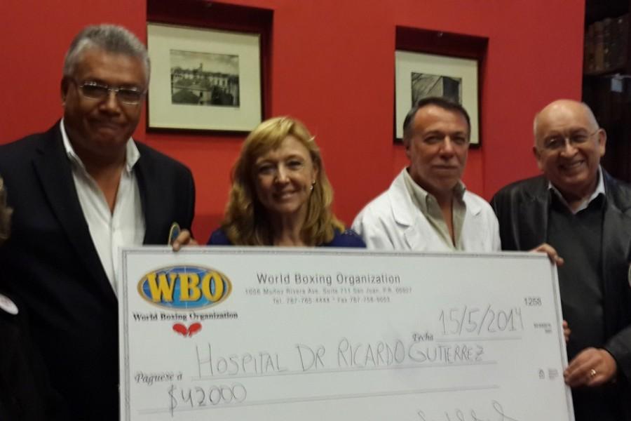 OMB con donación a niños en Bs. As.