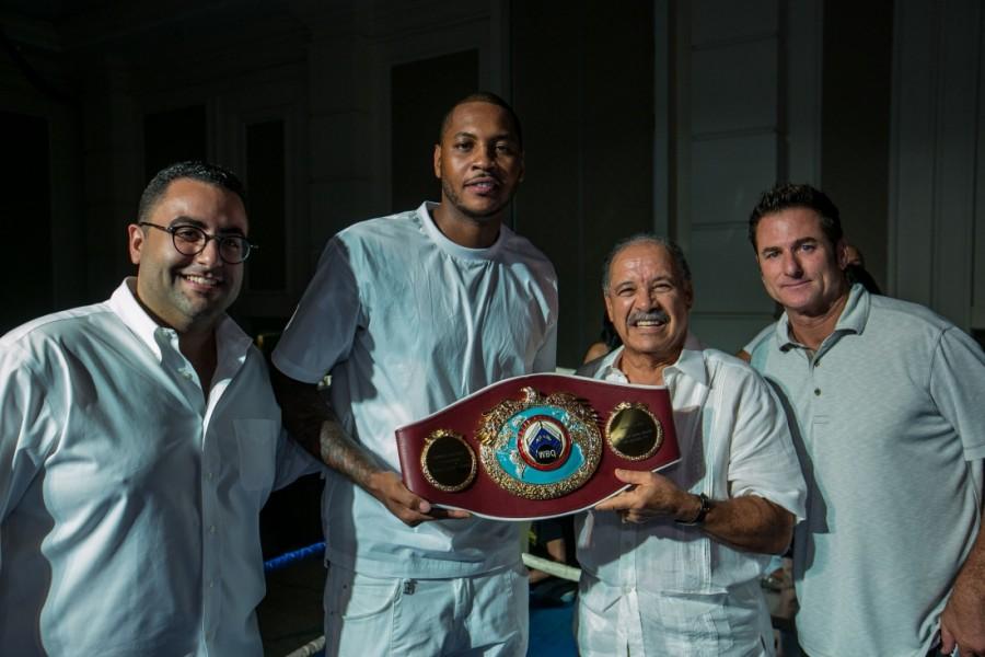 Anthony recibió faja de boxeo en PR