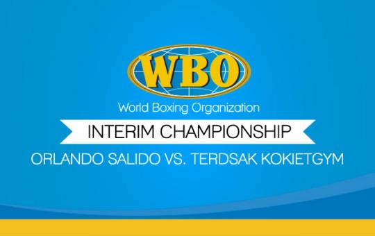 Interim Orlando Salido vs. Terdsak Kokietgym