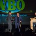 Homenajeados Joe Calzaghe y Oscar De La Hoya en Gala de la 27ma Convención Anual de la OMB