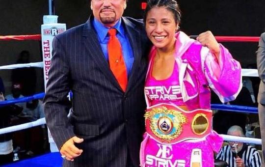 Tijuana's Kenia Enriquez Wins Vacant WBO Flyweight Title