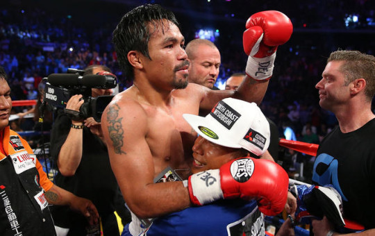 Manny Pacquiao: Six-knockdown showing demands Floyd Mayweather fight
