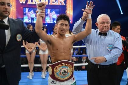 Naoya Inoue claimed the WBO Jr. Bantamweight Championship