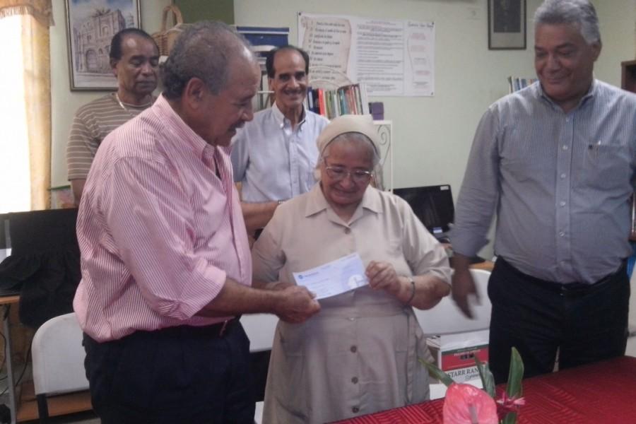 OMB realiza donación al Hogar San José de Malambo