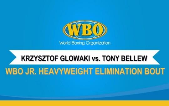 WBO Jr. Heavyweight Elimination Bout Negotation Letter