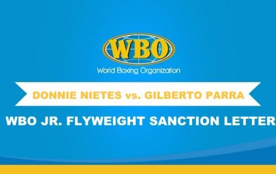 WBO Jr. Flyweight Championship Bout