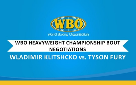 30 DAYS TO NEGOTIATE – WBO HEAVYWEIGHT CHAMPIONSHIP BOUT