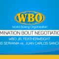 Elimination Bout Negotiations Genesis Servania Vs. Juan Carlos Sanchez, Jr.