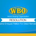 Resolution Kenia Enriquez Petition For Direct Rematch