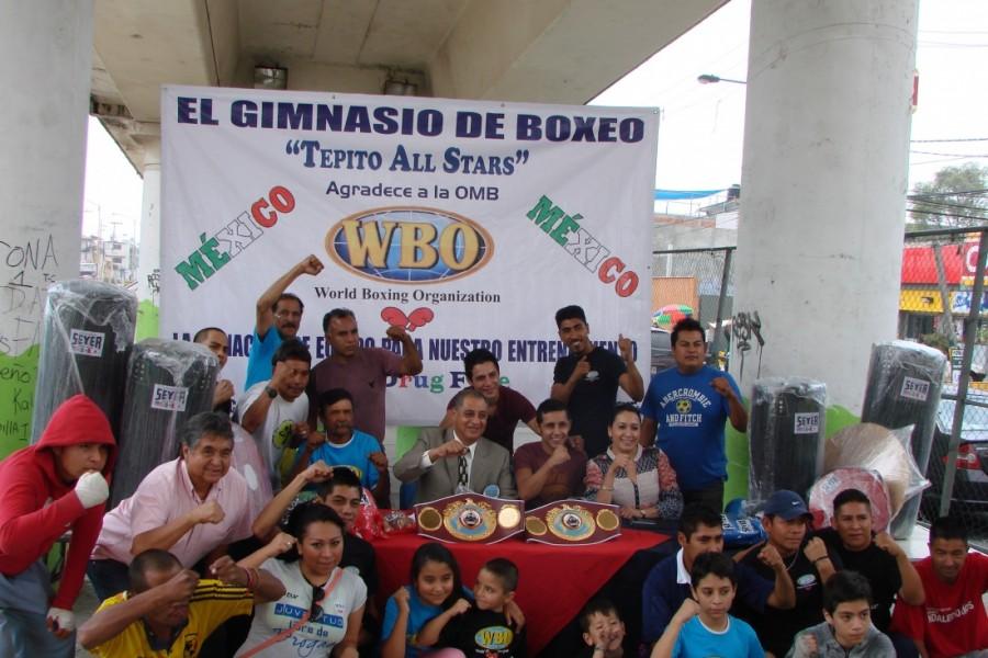 OMB estimula el pugilismo en México