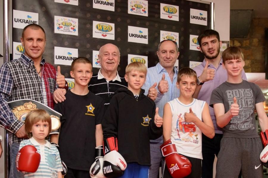 WBO. KIDS DRUG FREE. UKRAINE