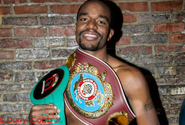 Jesse Hart looking for a knockout against another famous son