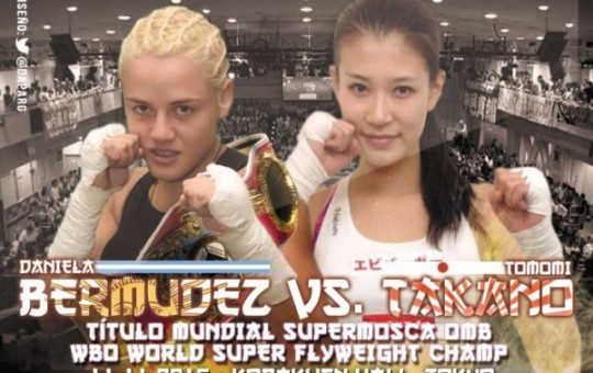 Daniela Bermúdez expone ante Tomomi Takano el 11/11 en Tokio