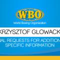 Final Requests For Additional Specific Information-Krzysztof Glowacki