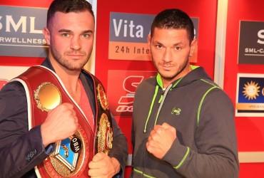 WBO #1 Dominic Boesel faces KO artist Denis Liebau on April 30th in Jahrhunderthalle Spergau / Leuna in Germany