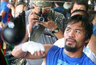 Pacquiao's training shifts to higher gear