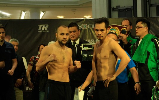Donaire Sr. sees 6th round knockout win by son over Bedak
