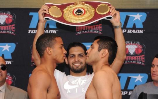 Photos/Weights: Felix Verdejo, Jose Rodriguez Ready For Battle