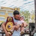 Entrega Oficial Del Campeonato Mundial Juvenil Pluma A Christopher 'Pitufo' Díaz