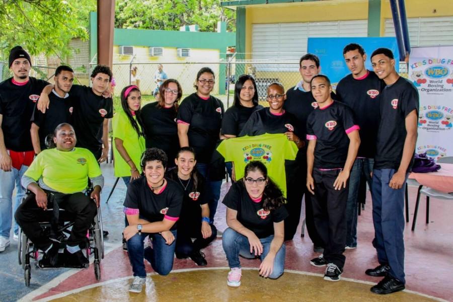 """""""WBO Kids Drug Free' en Centro Vocacional Especial Eugenio María de Hosto"""