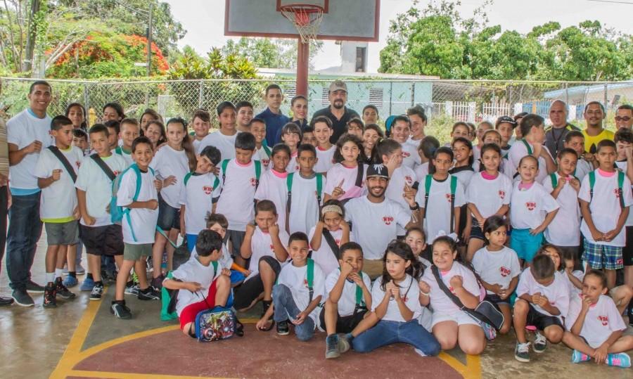 PROGRAMA 'WBO KIDS DRUG FREE' DE LA OMB SE UNE AL CAMPAMENTO 'SOÑANDO EN GRANDE' EN CAGUAS, PR