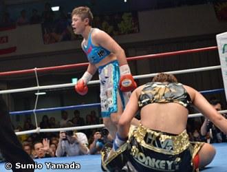 WBO FEMALE 118LB CHAMP FUJIOKA DEFEATS SHINDO IN FIGHT OF DECADE