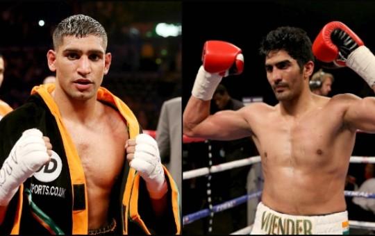 Vijender Singh Views Amir Khan Fight as Massive Event