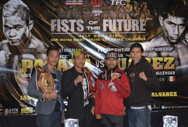 Fists of the Future Final Press Conference