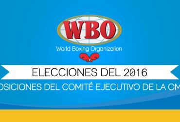 Elecciones del 2016 para las posiciones del Comité Ejecutivo de la OMB