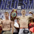 Canelo Alvarez vs. Liam Smith weigh-in