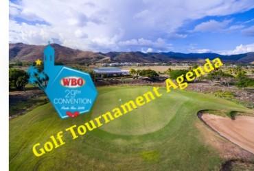 WBO 29TH CONVENTION GOLF TOURNAMENT AGENDA