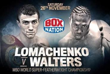 Lomachenko, Walters on upcoming collision