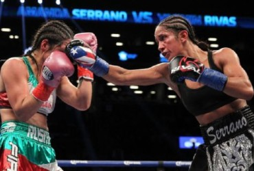 Amanda Serrano's win marks return of nationally televised women's boxing