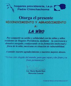 Agrad. Hogares Providencia 3