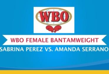 SABRINA PEREZ VS. AMANDA SERRANO DOCUMENTS