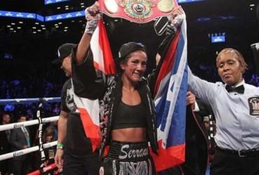 Amanda Serrano buscará ser la primera boxeadora campeona mundial de cinco divisiones