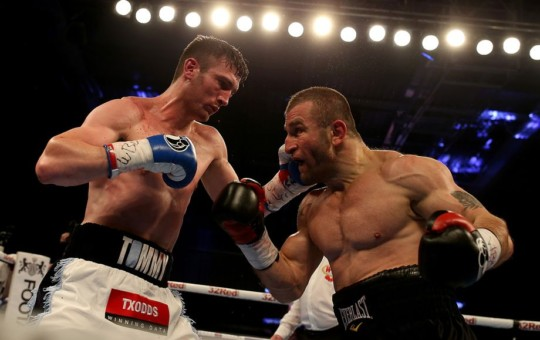Avtandil Khurtsidze trounces Tommy Langford to earn fight with Saunders