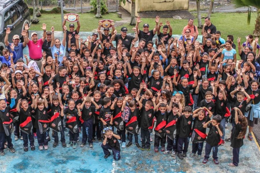 'WBO KIDS DRUG FREE' IMPACTA A DECENAS DE ESTUDIANTES EN NARANJITO, PUERTO RICO