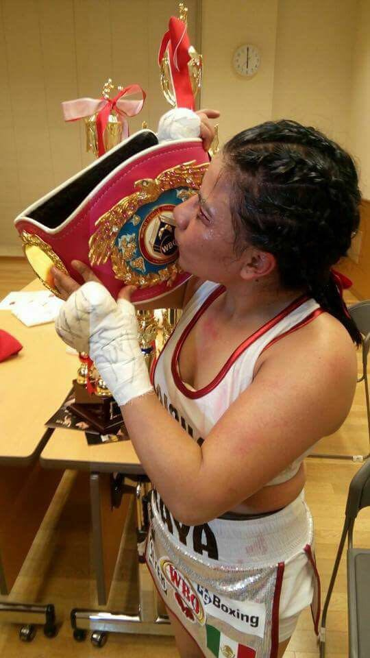 Monserrat Alarcón New WBO Champion