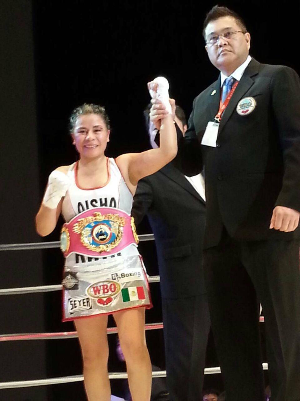 Monserrat Alarcon Boxing Champion
