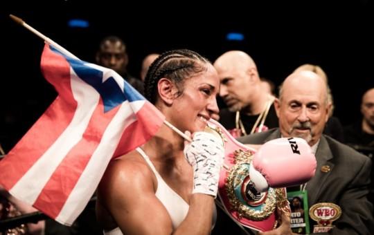 Serrano Stops Santana; Becomes 5-Division Women's Champ