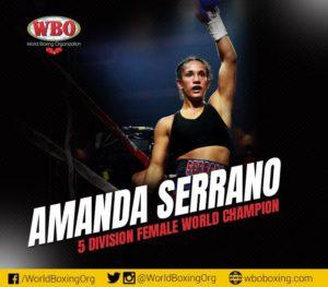 WBO champion Amanda Serrano