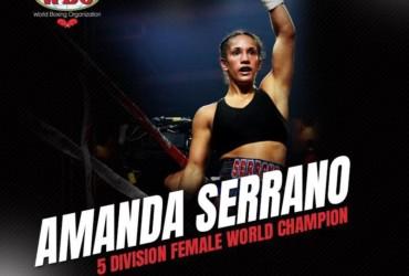WBO honors champion Amanda Serrano who has made history in women's boxing