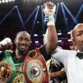 Photos: Terence Crawford Beats Down Felix Diaz For TKO Win