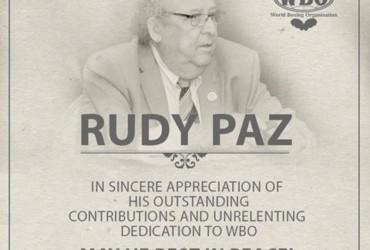 RUDY PAZ'S SERVICES & OBITUARY