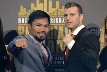 Pacquiao, Horn ready to rumble in Brisbane