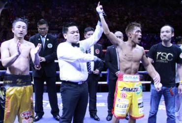 Kimura dethrones Shiming with shock TKO