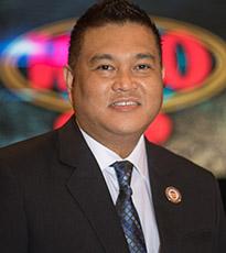 Leon P. Panoncillo  (Vice President WBO /Chairman – Asia Pacific/Oriental/China)
